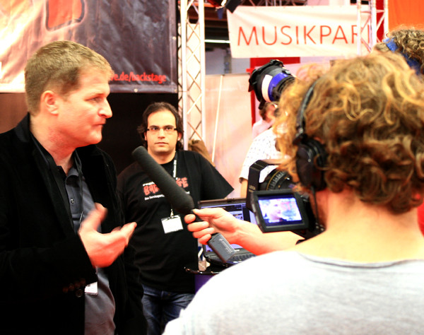 Musikmesse 2010: Interview am Messestand von regioactive.de